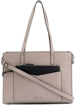 Karl Lagerfeld Paris K/Pocket large tote bag