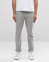Lee Arvin Slim Tapered Chino Grey Herringbone