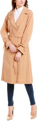 Cole Haan Feminine Trench Coat