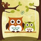 Art.com Two Owls on Swing