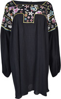 Ermanno Scervino Flower Embroidered Dress