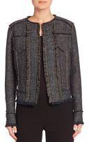 Elie Tahari Carol Tweed Jacket