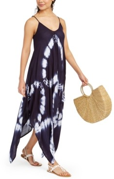 Raviya Tie-Dye Handkerchief-Hem Cover-Up Dress Women's Swimsuit