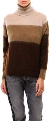 Golden Goose Panelled Turtleneck Sweater