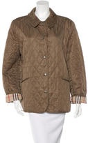 Burberry Lightweight Quilted Jacket w/ Tags