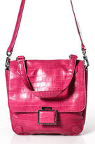 Marc by Marc Jacobs Pink Leather Crossbody Handbag