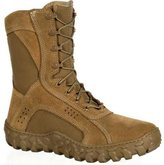 """Rocky Tactical Boots Mens 8"""" Compliant S2V 8.5 M Brown RKC050"""