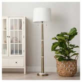 Threshold Franklin Floor Lamp - Brass (Includes CFL Bulb