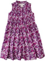 Masala Jardin Dress (Toddler/Kid) - Purple-4 Years