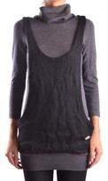 Frankie Morello Women's Grey Wool Jumper.