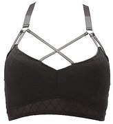 Charlotte Russe Plus Size Caged Mesh Bralette