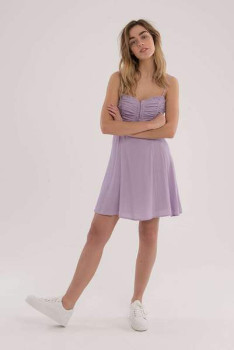 ASTR the Label The Ryder Dress In Lavender - L