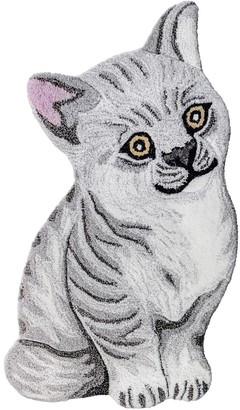 Studio Maleki Cat Wool & Cotton Rug For Lvr