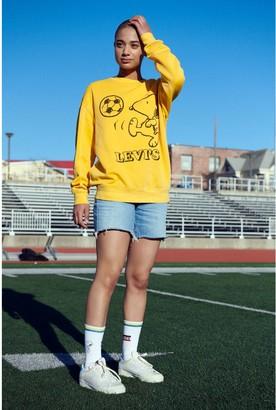 Levi's x Peanuts Relaxed Oversized Crewneck Sweatshirt