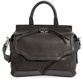 Rag & Bone 'Small Pilot' Lambskin Leather Satchel - Black