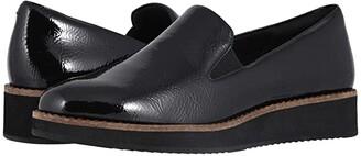 SoftWalk Whistle (Black Patent) Women's Slip on Shoes