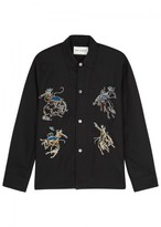 Our Legacy Rodeo-embroidered Wool Shirt