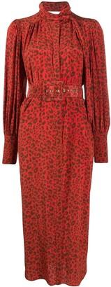 Zimmermann Leopard Print Dress