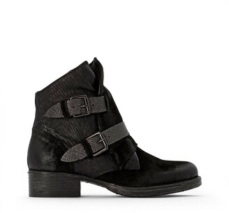 Mjus Norton Leather Buckled Boots