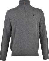 Ralph Lauren Zip Neck Sweater