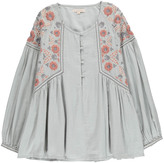 LOUISE MISHA Mesifa Embroidered Flower Blouse - Teen & Women's Collection