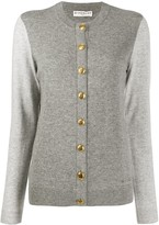Givenchy 4G buttoned two-tone cardigan