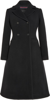 Martin Grant Double-Breasted Wool-Blend Coat