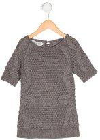 Christian Dior Girls' Angora-Blend Cable Knit Dress
