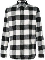 Neil Barrett checked flannel shirt - men - Cotton - 38