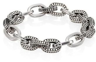 John Hardy Dot Sterling Silver Small Link Bracelet