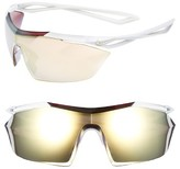 Nike Vaporwing Elite 90Mm Running Sunglasses - Cargo Khaki/ Volt