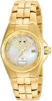 Technomarine TECHNO MARINE Techno Marine Womens Gold Tone Bracelet Watch-Tm-115189