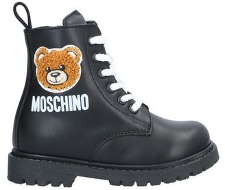 MOSCHINO BAMBINO Ankle boots