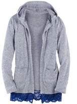 SO Girls 7-16 & Plus Size SO® Hatchi Hooded Cardigan