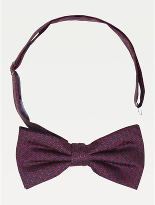 Tommy Hilfiger Stripe Silk Bow Tie