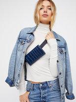 Free People Giselle Embossed Pocket Belt