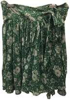 Chloé Spring light green skirt