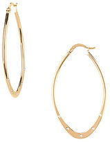 Anna & Ava Teardrop Hoop Earrings
