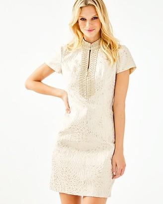 Lilly Pulitzer Adrena High Collar Shift Dress