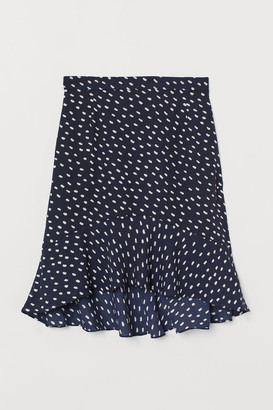 H&M Knee-length Skirt - Blue