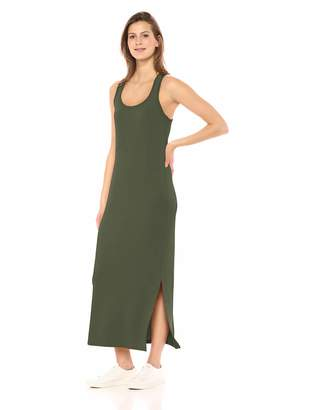 Amazon Brand - Daily Ritual Women's Supersoft Terry Racerback Maxi Dress