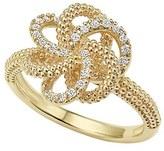 Lagos Women's 'Love Knot' Diamond Ring