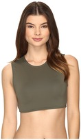 Vince Camuto Fiji Solids Strappy Cropped Bikini Top
