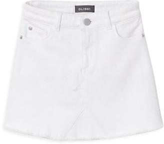 DL1961 Girl's Denim Mini Skirt