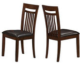 Monarch Set of Two Antique Oak Dining Chairs