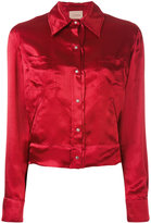 Laneus tiger embroidered bomber jacket - women - Viscose - 40