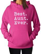 TeeStars - Gift for Auntie Best Aunt Ever - From Nephew or Niece Women Hoodie