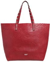 RED Valentino Manifesto Leather Tote W/ Studs