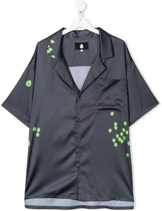 Natasha Zinko Kids TEEN printed pocket shirt