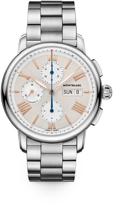 Montblanc Star Legacy Stainless Steel Bracelet Chronograph Watch